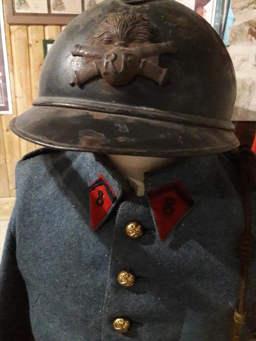 exposition temporaire sur le centenaire de la première guerre mondiale