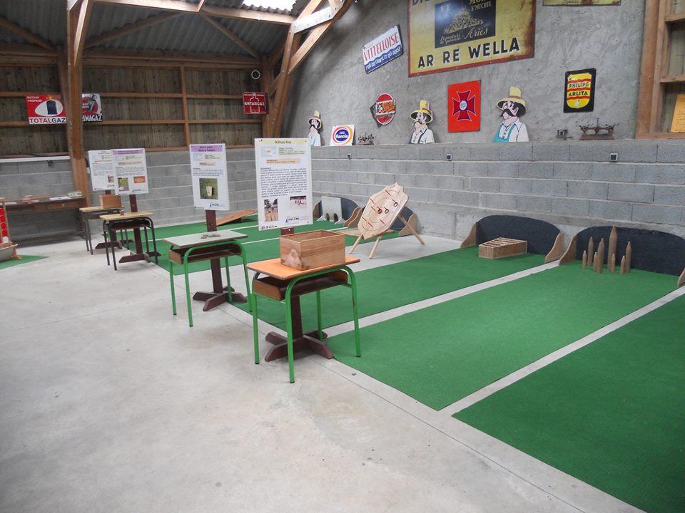 la salle des jeux bretons en bois !