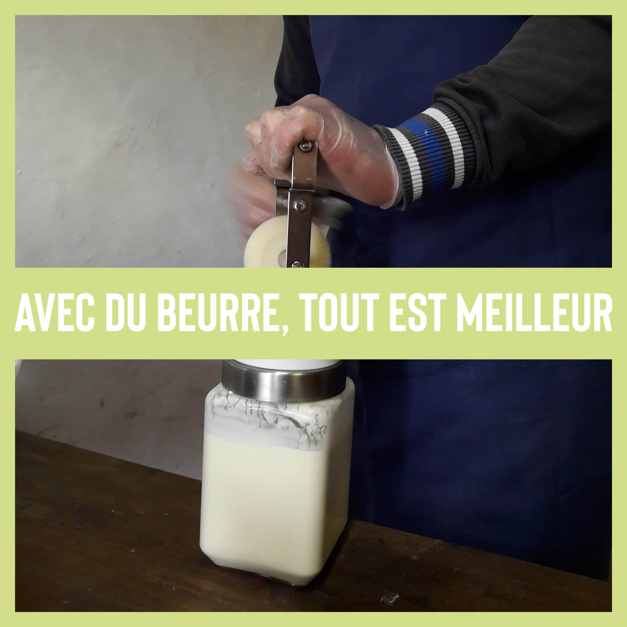 avec du beurre, c'est meilleur !