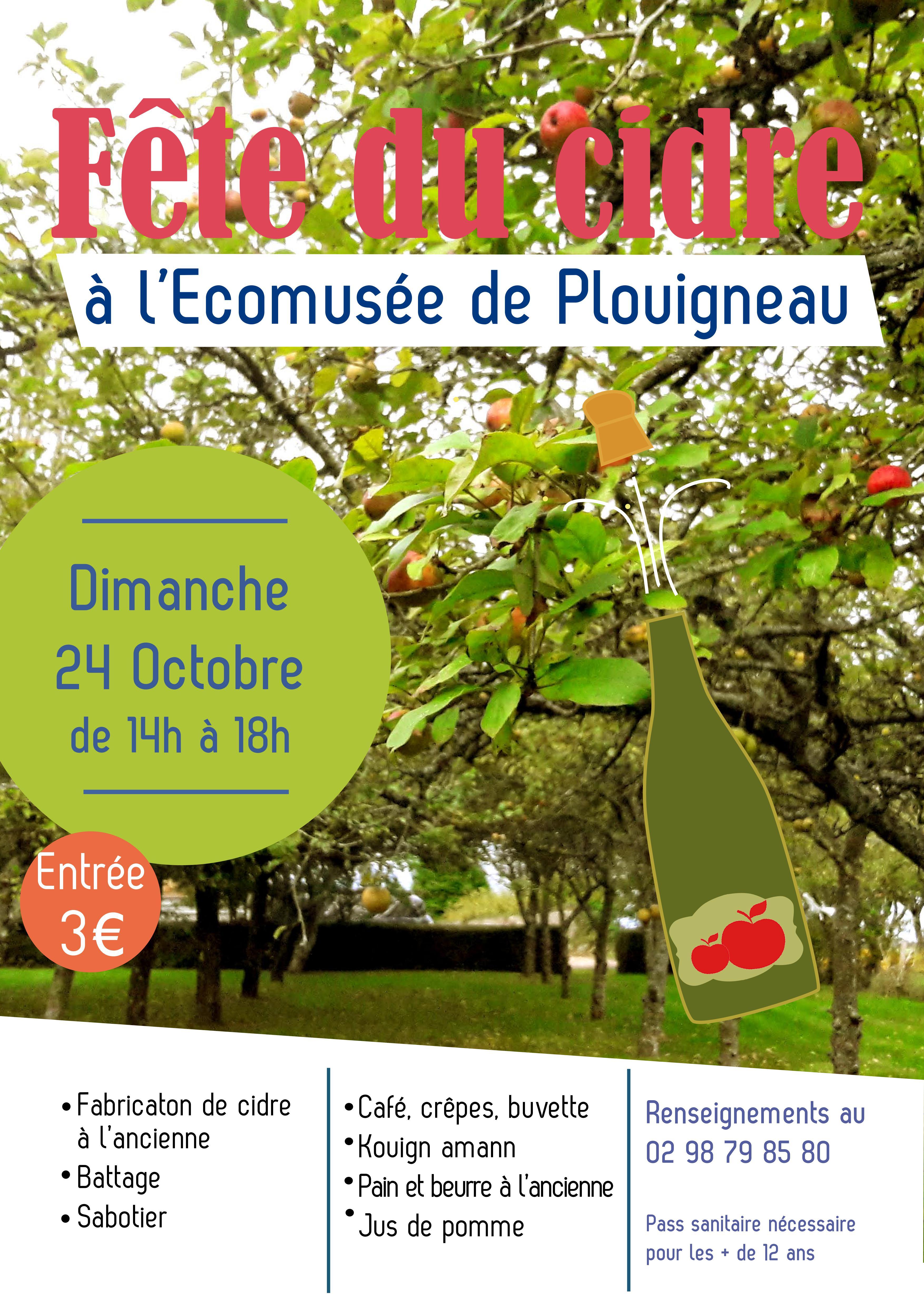 Fête du Cidre à l'Écomusée de Plouigneau !